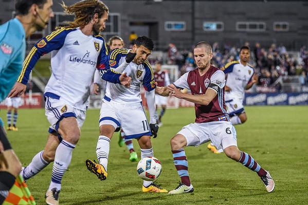Colorado Rapids vs Real Salt Lake  -  MLS Soccer - 2016-05-07
