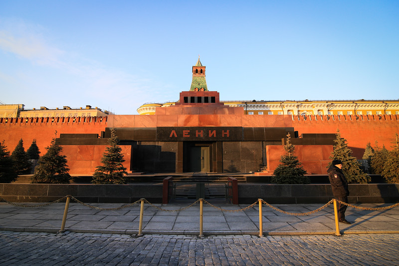 Tomb of Lenin, Red Square, Moscow, Russia