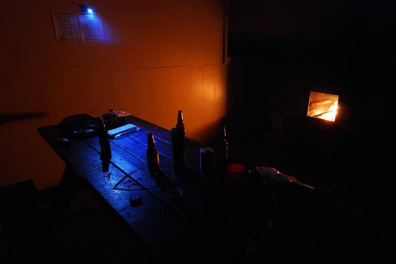 """Bière avec Ed l'australien au camping """"Big Intervale"""" - Parc national des Hautes-Terres du Cap Breton"""