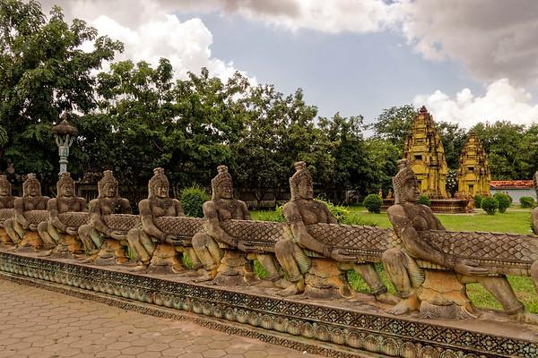 Cambodia temples.