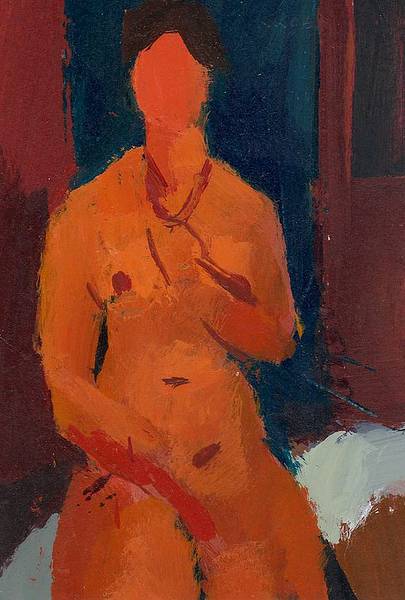 Nude with Necklace (after Modigliani)