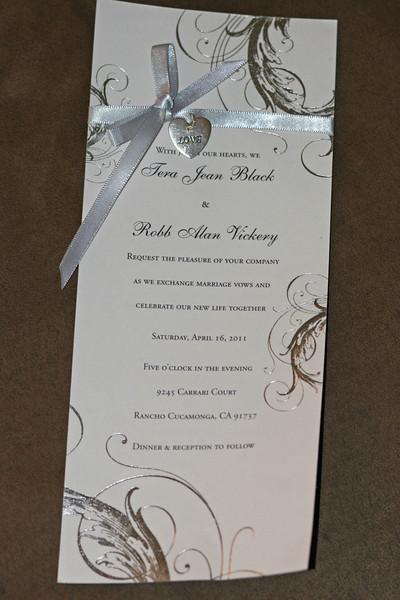 Tera-Robb Wedding 4-16-2011