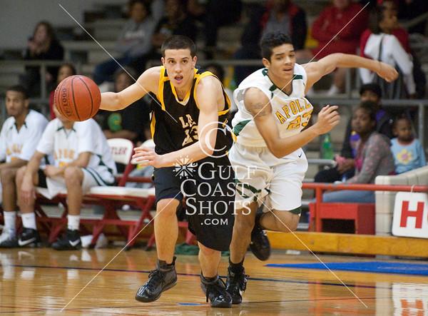 2010-02-05 Basketball Varsity Boys Sharpstown at Lee