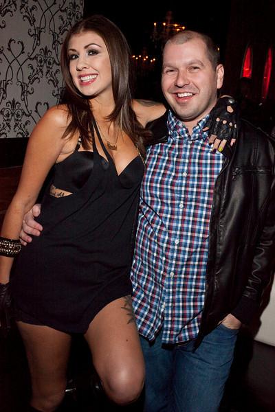 #99 Bad Girls Club Miami's Lea Beaulieu  @ Angels Rock Bar, 11/5/10