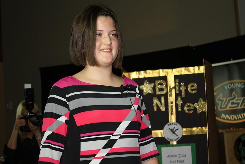 Hannah Fowler presents her light up nighttime mat
