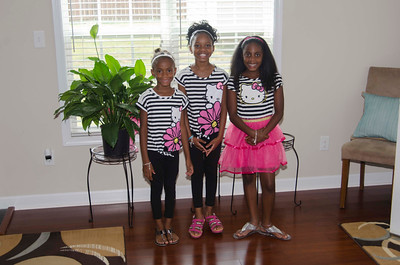 The Granddaughters Brielle, Nyasia & Ryleigh 2016
