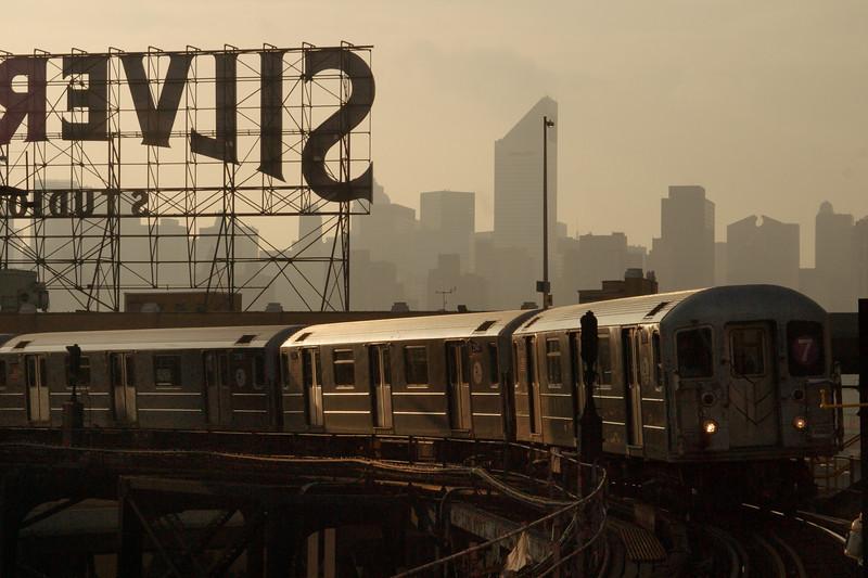 7 Line Subway Train, Queens, NYC