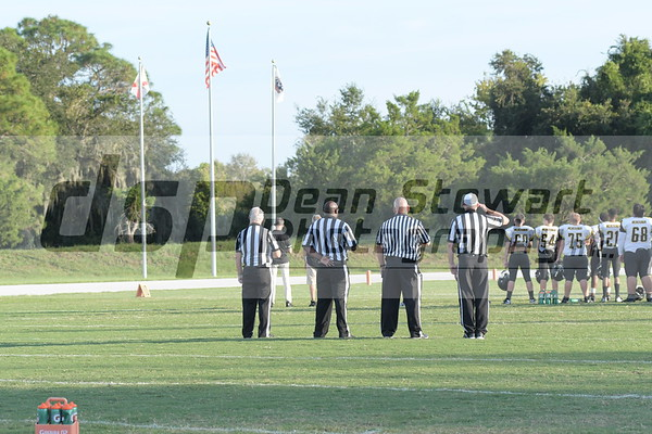Merritt Island HS JV Football 10-17-19