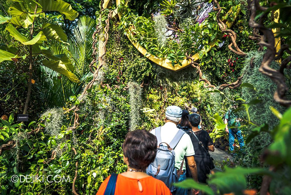 Singapore Garden Festival 2018 - Supertree Grove Maze