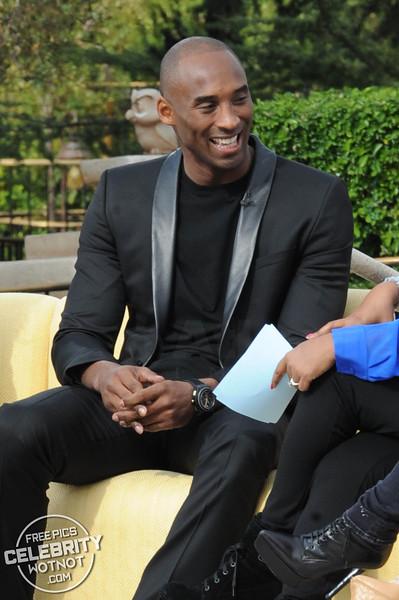 Whoopi Goldberg Wears Eye Patch To Interview Kobe Bryant!