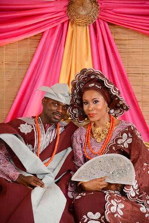 Ara and Yemi's Traditional Nigerian Wedding