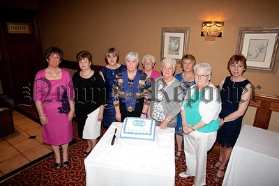 Pictured at the celebration of Mountnorris Womens Institute 70th Aniversary are the committee members. R1520020