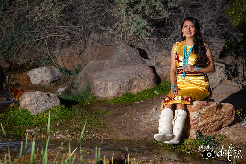 Native American Senior Portraits
