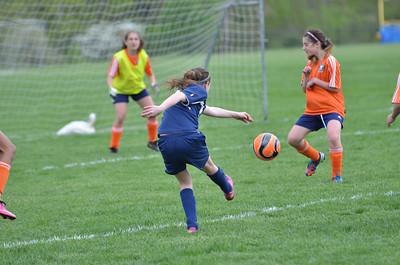 2013.05.11 U12 Girls vs Newton & Team Pic