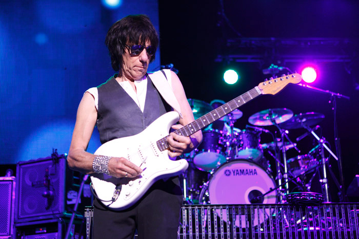 . Jeff Beck performs at the Fox Theatre in Detroit on Friday, Oct. 25, 2013. Photo by Ken Settle