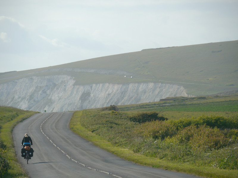 © RobAng 2011, Velotour GB (Dorset-Devon-Cornwall), Isle of White, Brighstone, Höhe 10 m