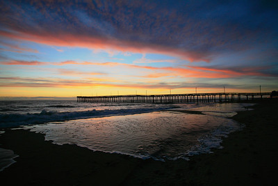 Va. Beach Pier Sunrise