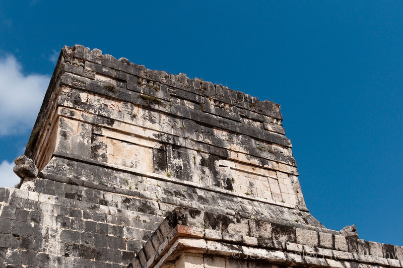 Temple of the Jaguars at the Great Ball Court, Chichen Itza
