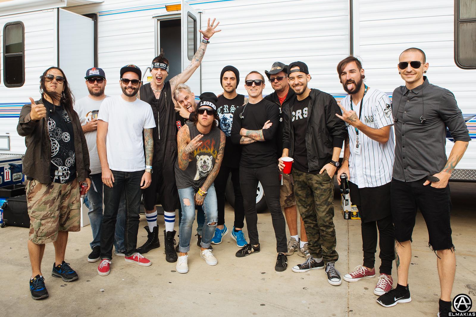 Linking Park x Warped Tour