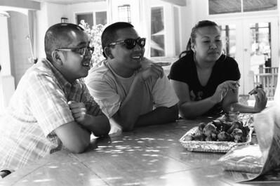 B&W - SD, OC, Dominik, Mt. Baldy