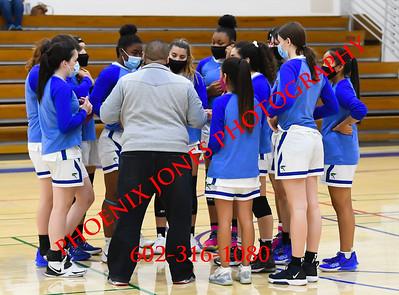 3-9-2021 - Xavier v Tucson - Girls Basketball - Playoff
