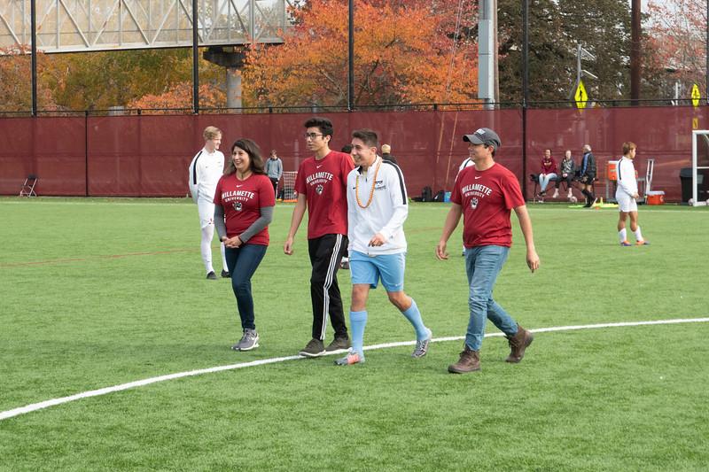 Willamette Bearcats Men's Soccer Senior Day