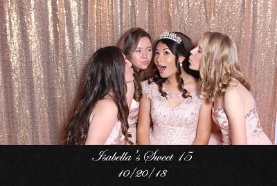 Isabella's Sweet 15