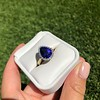 7.00ctw Tanzanite and Diamond Halo Ring 28