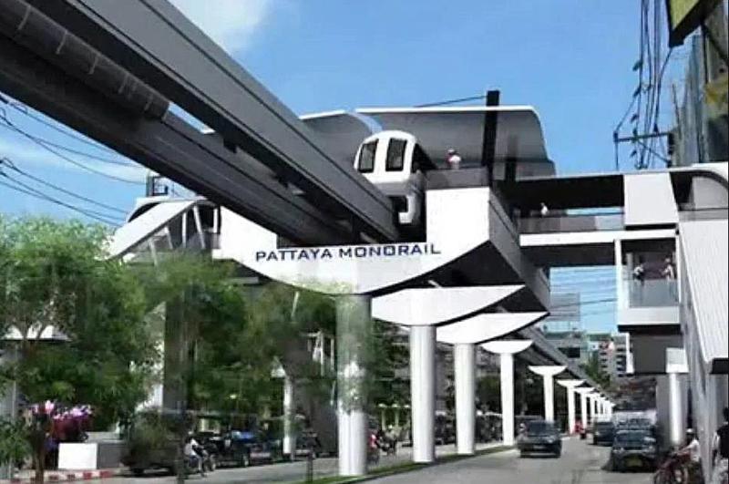 Pattaya Monorail Station