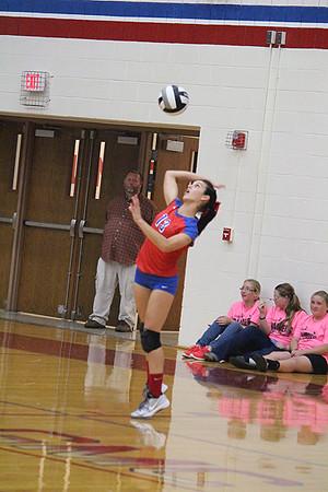 10-01-13 SPORTS Tinora @ Wayne Trace Volleyball