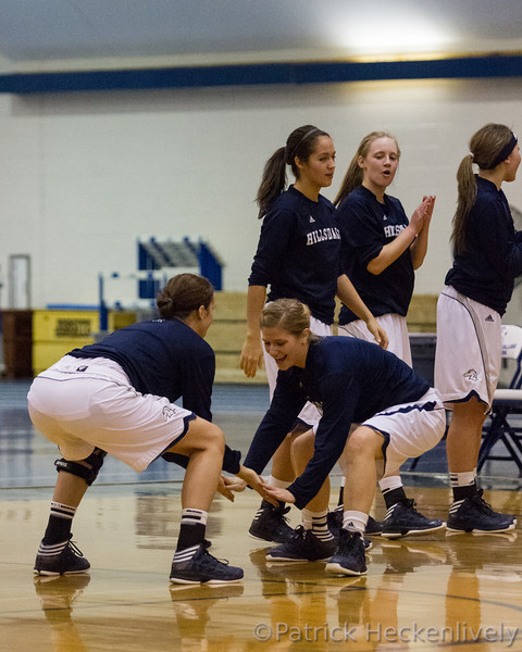 2012-12-17 Hillsdale College Women's Basketball vs. Ferris St.