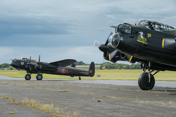 Biggin Hill 14th &15th Lancasters