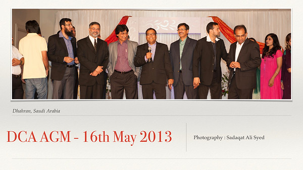 DCA AGM-16th May 2013
