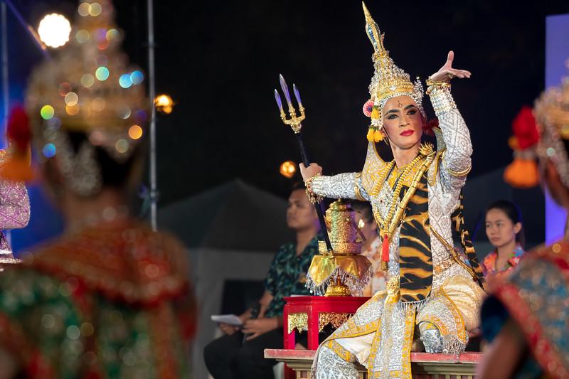 Songkran Festival at Dusit Palace 1