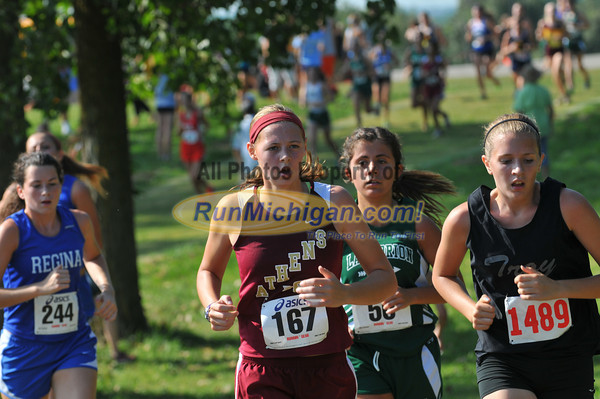 Gallery 2, JV Girls Race 2 - 2013 OU Golden Grizzly High School Invite