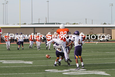 La Porte Freshman B Football vs Galveston Ball 8/25/2011