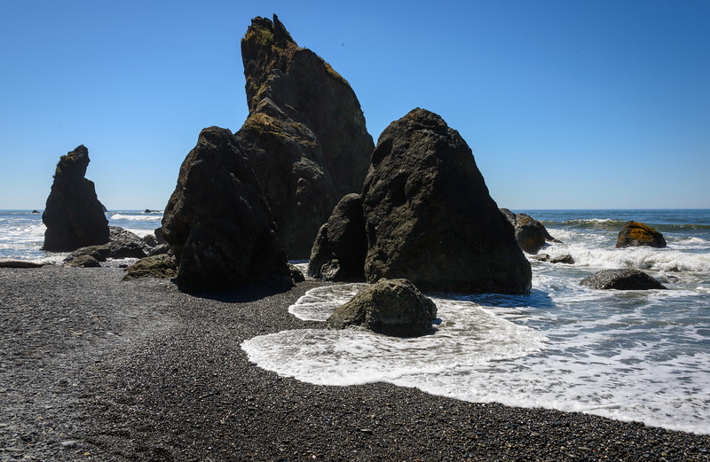 Ruby Beach in Olympic National Park