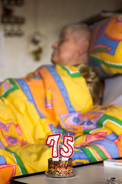Mama's 75. Geburtstag