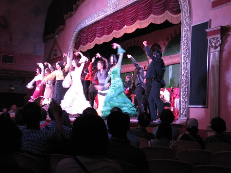 Flamenco at El Palacio Andaluz