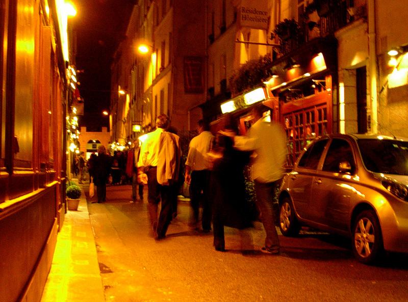 Kveld i det latinske kvarter (Foto: Ståle)