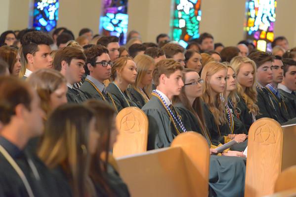 Trinity Catholic High School  Senior Mass 2019