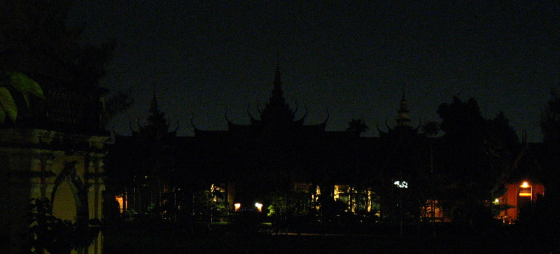 National Museum at night from the FCC