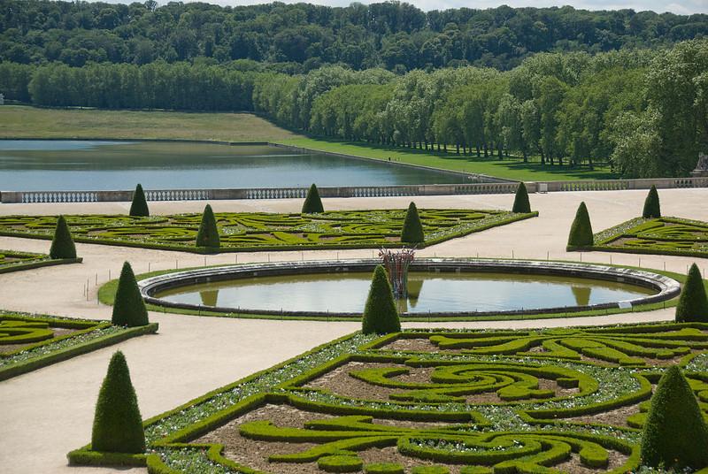 Chateau de Versailles in Versailles, France