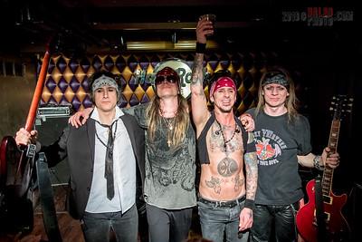 2018.02.08. - Holiday Crüe a Hard Rock Café Budapestben