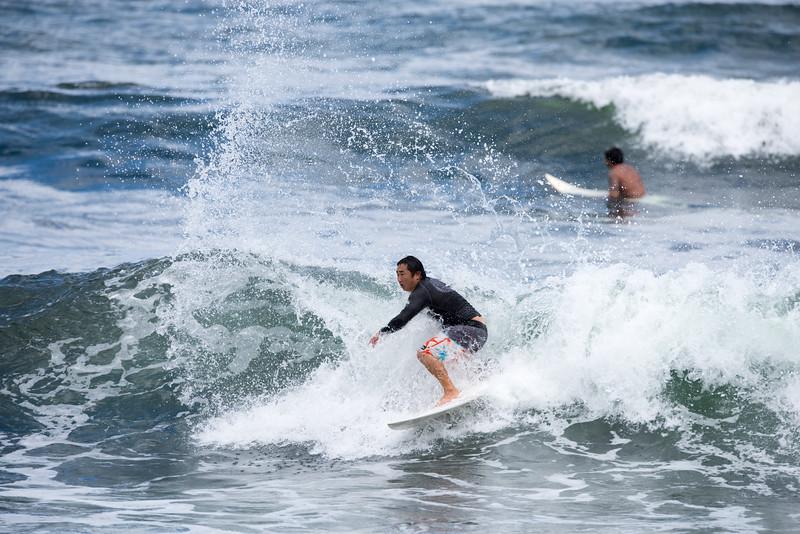 Surfer Making Waves