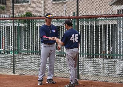 091718 Baseball Athlete in China