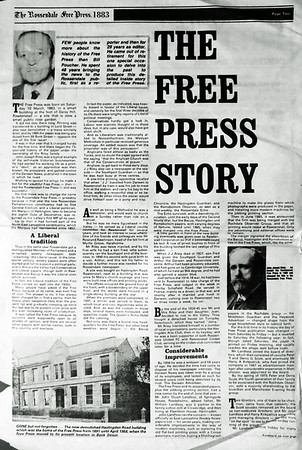 Free Press Centenery Special, 12th March 1983