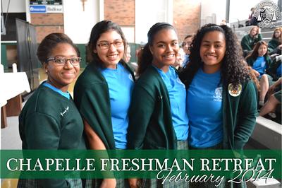 Freshman Retreat - February 2014