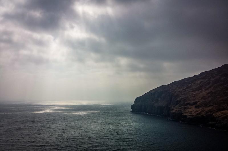 Southern cliffs of Rùm