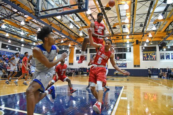 St. John's (DC) vs. O'Connell (VA) boys basketball